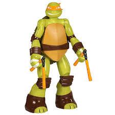 teenage mutant ninja turtles michelangelo 48 figure jakks