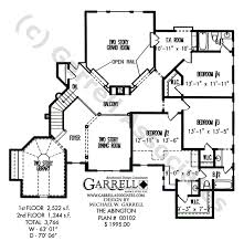 Two Story House Plans With Balconies Abington House Plan House Plans By Garrell Associates Inc