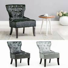 black velvet bedroom chair bedroom crushed velvet chairs ebay