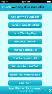 wedding planner apps wedding checklist screenshot wedding checklist ladymarry wedding