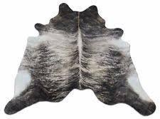 grey cowhide rug ebay