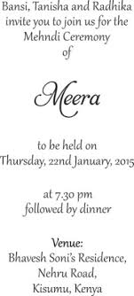 mehndi card wording wording templates for hindu muslim sikh christian wedding cards