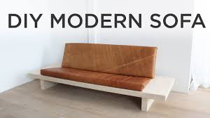 Cheap Modern Sofa Beds Diy Modern Sofa How To Make A Sofa Out Of Plywood