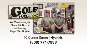 cape cod golfers visit golf fore less youtube
