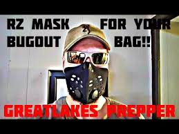 Rz Mask Rz Mask Why You Need One In Your Bugout Bag Youtube