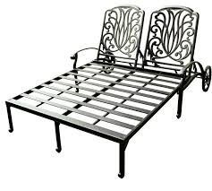 Wrought Iron Patio Chaise Lounge Living Room Awesome Wrought Iron Chaise Lounge Chairs Design