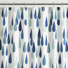 Aqua Blue Shower Curtains Bathroom Unique Shower Curtain By Marimekko Shower Curtain