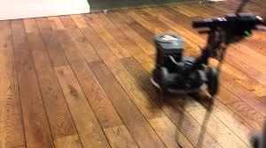 oiling wood floor
