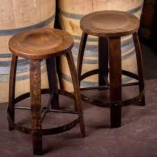 wine barrel bar stools wine barrel furniture wine country accents