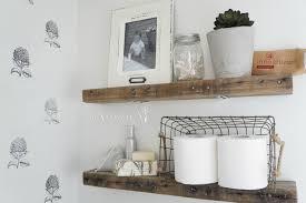 shelves magnificent floating white bathroom shelves wooden