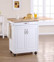 Kitchen Towel Bars Ideas Furniture 23 Small Kitchen Carts Design With Roller Wheel Support