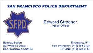 Business Cards San Francisco Code 3 Products Home