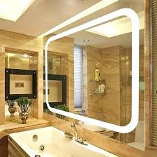 wall mounted magnifying mirror with light wall vanity mirror with lights bathroom mirror l waterproof