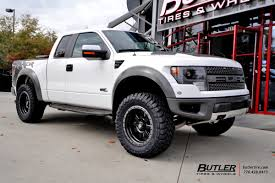 Ford Raptor Trophy Truck Kit - ford raptor with 20in fuel trophy wheels exclusively from butler