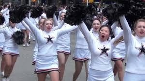 thanksgiving 2014 parade varsity cheer macy u0027s thanksgiving day parade 2014 youtube
