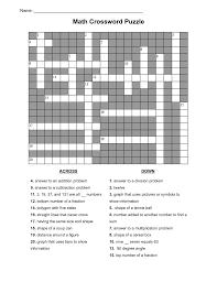 maths crossword u0026 sc 1 st word game world