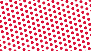 wallpaper red polka dots hexagon white ffffff dc143c diagonal 40