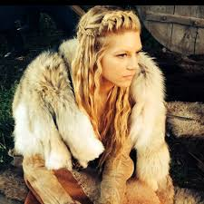 lagertha lothbrok hair braided thelothbroks behind the scenes of vikings lagertha x my