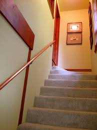 Stairwell Ideas The Stairwell Has A New Copper Handrail And A Change Of Art Works