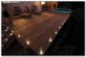 deck post cap lights low voltage decks home decorating ideas