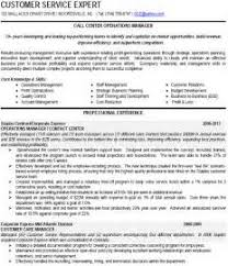 free sample resume for call center manager checklist template