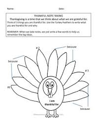 thanksgiving paragraph writing grades 1 2 3 tpt