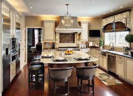 depiction of curved kitchen island ideas for modern homes and in