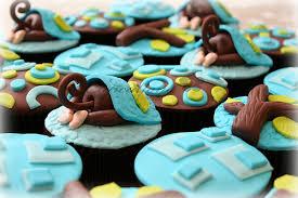monkey bum cupcakes