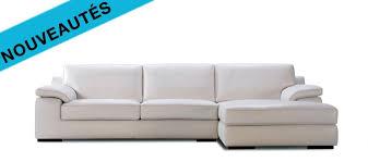 canapé en cuir 3 places le canapé cuir flava est proposé en canapé d angle en canapé 3