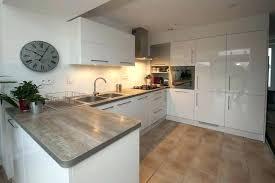 modele cuisine blanc laque modele cuisine blanche laquee gris et