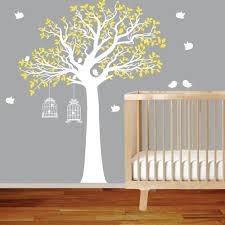 vinyl wall decal vinyl wall decal stickers bird yellow tree