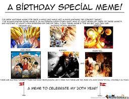 20th Birthday Meme - here s to my 20th birthday by devastatingwarrior meme center