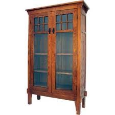 Oak Bookcases With Glass Doors Oak Bookcases With Glass Doors Wayfair