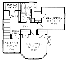 Floor Plan Two Bedroom House 14 2 Bedroom House Plans Free Floor For Two Valuable Inspiration