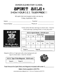 fundraiser forms u0026 letters pto today
