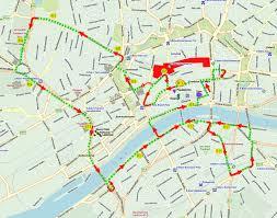 Bus Route Map by Frankfurt Blue Bus Hop On Hop Off City Tour Tour Frankfurt