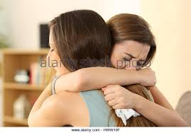 How To Comfort A Friend Woman Consoling Friend Stock Photos U0026 Woman Consoling Friend Stock