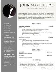 professional resume template free download professional cv template doc free download c45ualwork999 org