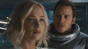 jennifer lawrence seduces chris pratt in space watch intense