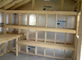 Building Wood Shelf Garage by 25 Best Shed Shelving Ideas On Pinterest Tool Shed Organizing