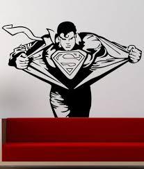 trends on wall superman sticker medium buy trends on wall trends on wall superman sticker medium