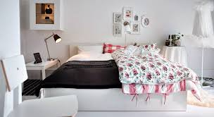 Cozy White Bedroom Stunning Ikea Bedroom For Teenager Cool And Modern Interior Design
