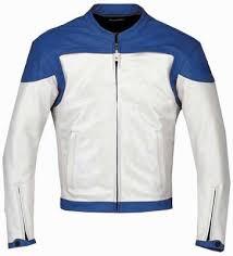 white motorcycle jacket blue and white leather motorcycle jacket