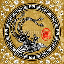 chinese design inkshuffle vector illustration of traditional chinese phoenix