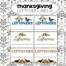 thanksgiving labels thanksgiving leftovers labels