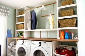 storage shelves with baskets laundry room laundry basket storage shelves inspirations room