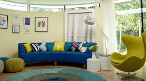 living room endearing blue velvet fabric lose sofa living room
