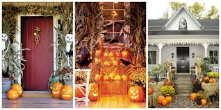 Outdoor Halloween Decor Ideas 23 Outdoor Halloween Decorations Yard And Porch Ideas These
