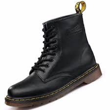 buy ankle boots malaysia genuine leather high top martin boots waterproof ankle boots