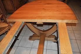table ovale avec rallonge les tables à rallonges ebénisterie armellin en gironde